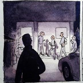 Panel Process: a night scene